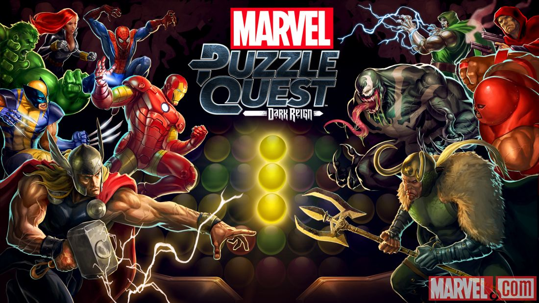 Marvel Puzzle Quest: Dark Reign is coming to iOS and Android