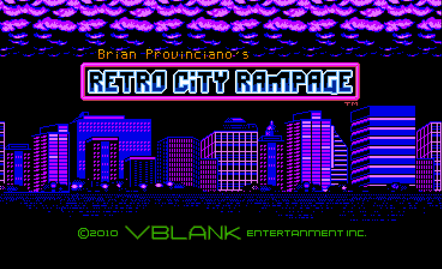 Retro City Rampage Anniversary